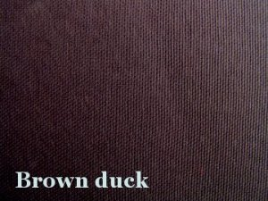 10 y Cotton Canvas Duckcloth Upholstery Fabric BROWN