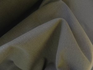18 Y Olive Green Twill Denim Slipcover Upholstery Fabric