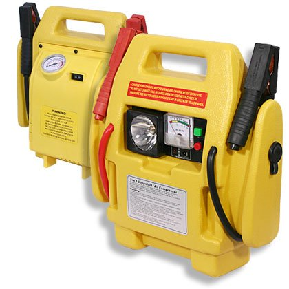 Jumpstart With Air Compressors