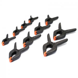 10 Pcs Spring Clamp Set