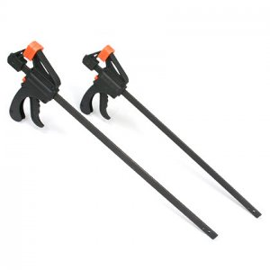18in Quick Grip Ratcheting Bar Clamp (set of 2)