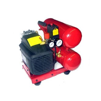 2 Hp Twin Tank Electric Air Compressor