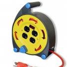 25 Ft Ul Extension Cord Reel Electrix