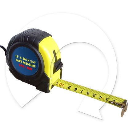16ft Tape Measure Sae Mm 6 Pack