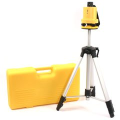 Rotary Laser Level Kit With Tripod And Stand