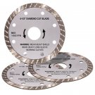 4-1 Half Inch Diamond Blade Set of 3