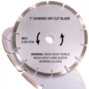 "7"" Diamond Dry Cutting Blade"