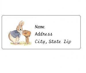 30 Personalized Peter Rabbit Return Address Labels