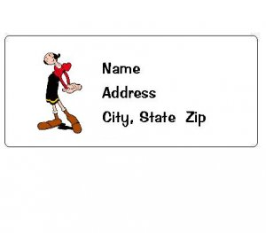30 Personalized Olive Oil Return Address Labels