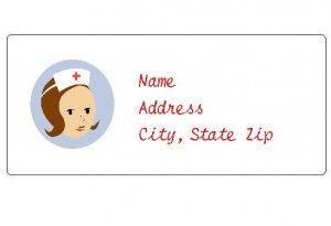 30 Personalized Nurse Return Address Labels