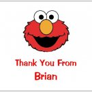 8 Personalized Elmo Thank You Cards / Note Cards