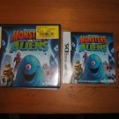 Gently Used Monsters vs. Aliens game for Nintendo DS