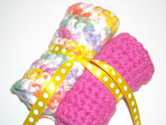 100% Cotton Dishcloths-Gumdrop Twist