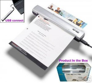 Plustek M12 Mobile Scanner for laptop/ Include shipping