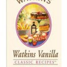 Watkins Vanilla Classic Recipes