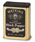 Watkins Black Pepper 4 oz.