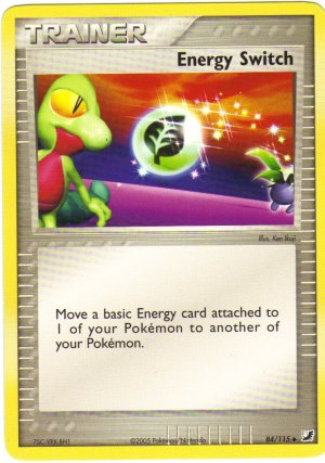 Pokemon Card Unseen Forces Trainer Energy Switch