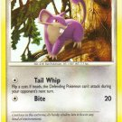 Pokemon Card DP Secret Wonders rattata 103/132