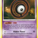 Pokemon Card DP Secret Wonders Unown O 70/132