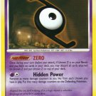 Pokemon Card DP Secret Wonders Unown Z 72/132