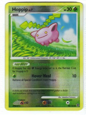 Pokemon Card DP Secret Wonders Reverse Holo Hopip 90/132