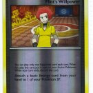 Pokemon Card Platinum Rising Rivals Rev Holo Trainer Flint's Willpower
