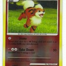 Pokemon Card Platinum Rising Rivals Rev Holo Growlithe 63/111