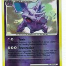 Pokemon Card Platinum Rising Rivals Rev Holo Nidorino 74/111