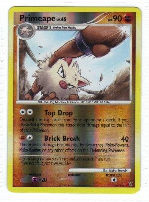 Pokemon Card Platinum Supreme Victors  Rev Holo Primeape 39/147
