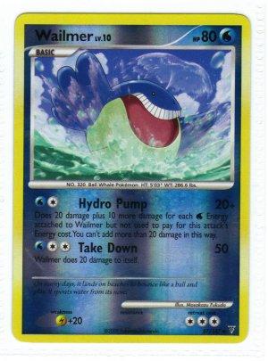 Pokemon Card Platinum Supreme Victors  Rev Holo Wailmer 87/147