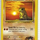 Pokemon Card Gym Heroes Brock's Sandshrew 72/132