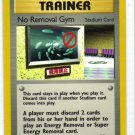 Pokemon Card Gym Heroes Trainer No Removal Gym