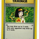 Pokemon Card Gym Heroes Trainer Erika
