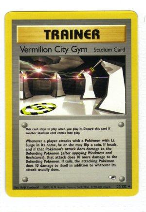 Pokemon Card Gym Heroes Trainer Vermilion City Gym