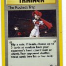 Pokemon Card Gym Heroes Holo Traine The Rocket's Trap