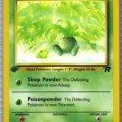 Pokemon Card Team Rocket  Oddish 63/82