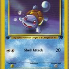 Pokemon Card Team Rocket  Squirtle 68/82