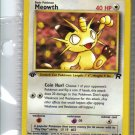 Pokemon Card Team Rocket  Meowth 62/82
