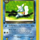 Pokemon Card Team Rocket  Dark Wartortle 46/82