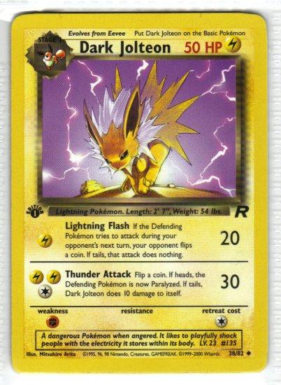 Rocket Pokemon Cards Pokemon Card Team Rocket Dark