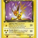 Pokemon Card Team Rocket  Dark Jolteon 38/82
