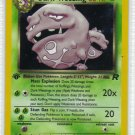Pokemon Card Team Rocket Holo Dark Weezing 14/82