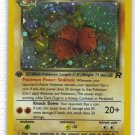 Pokemon Card Team Rocket Holo Dark Dugtrio 6/82