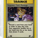 Pokemon Card Team Rocket Trainer Imposter Oak's Revenge
