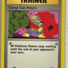 Pokemon Card Team Rocket Trainer Goop Gas Attack
