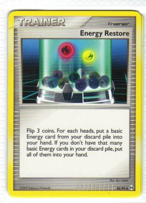 Pokemon Card Platinum Arceus Trainer Energy Restore