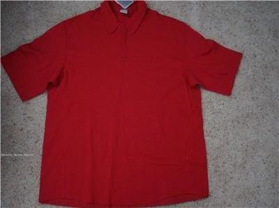 Nwt 2XL NIKE Men Original 6 Red Polo Shirt New $55 XXL