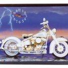 American Classic Motorcycle Clock NEW NIB