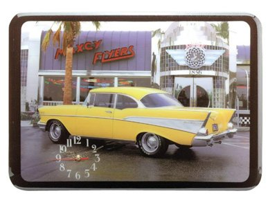 Classic Car And Diner Clock NEW NIB