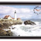 Beautiful Lighthouse Clock NEW NIB